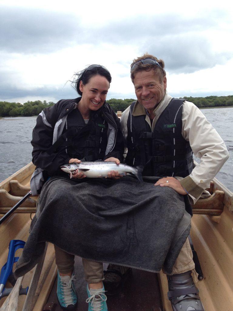 couple fishing killarney